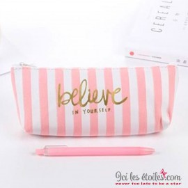 "Trousse ""Believe in Yourself"""
